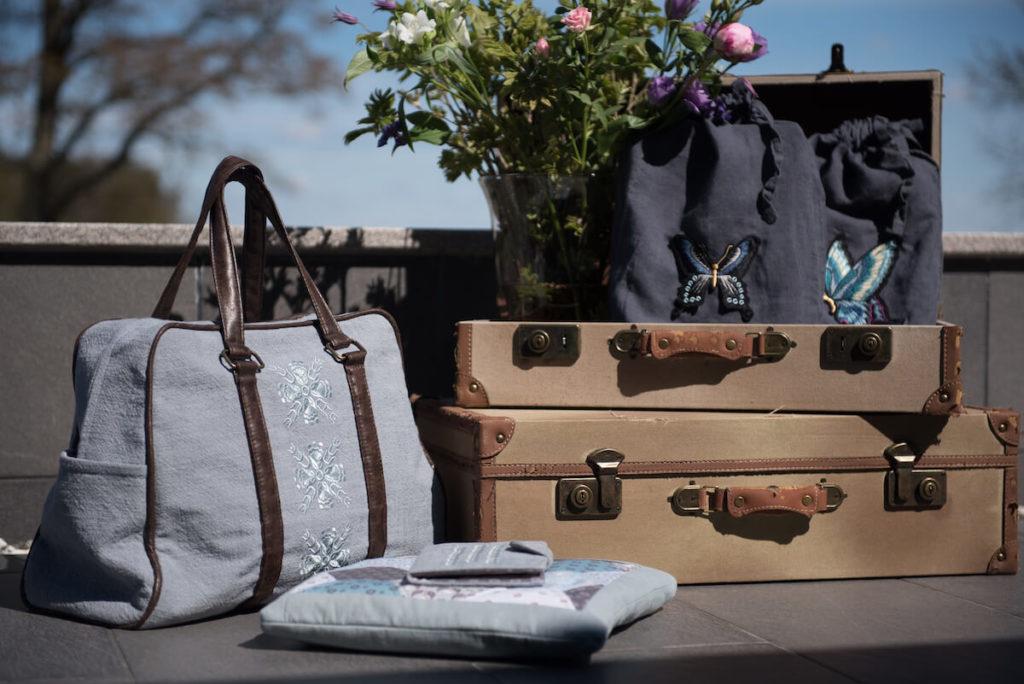 Rejs med stil - quiltede tasker